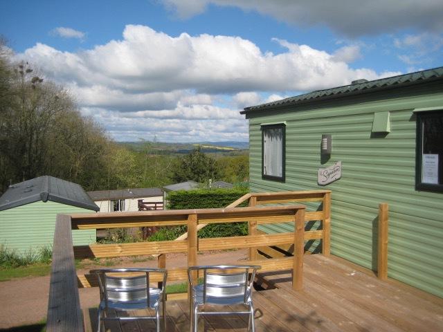 external deck   view